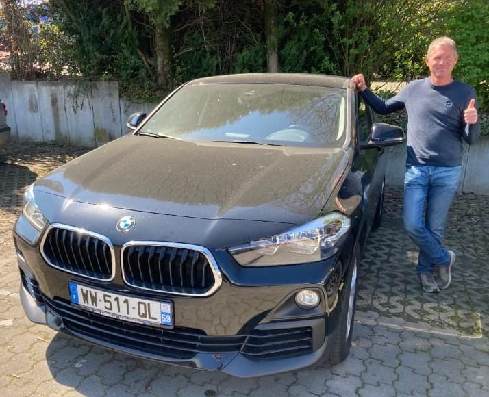 Client satisfait Importateur BMW Automobile Occasion Allemagne - Carcelle.com - BMW X2