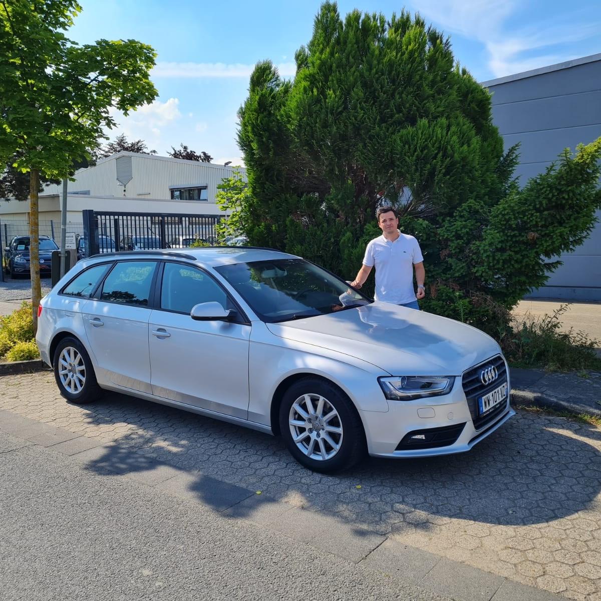 client satisfait Importateur Audi Occasion Allemagne - Carcelle.com - livraison à domicile
