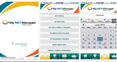 My NET Manager App for Carcinoid and Neuroendocrine Tumor Patients