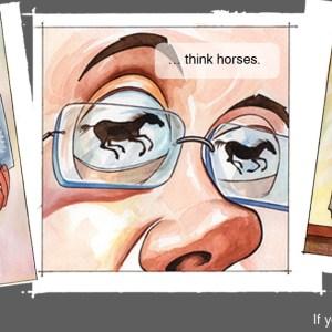 NET Cancer Day Zebra Cartoon Brings Awareness to Rare Cancers