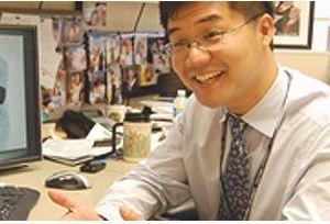 Eric Liu in office