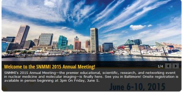 Society of Nuclear Medicine and Molecular Imaging 2015 Annual Meeting
