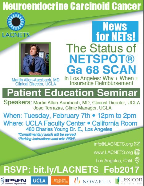 Lacnets Feb 2017 Carcinoid Cancer Foundation