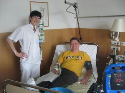 Staff Sergeant Daniel Barber Receives PRRT Treatment in Germany