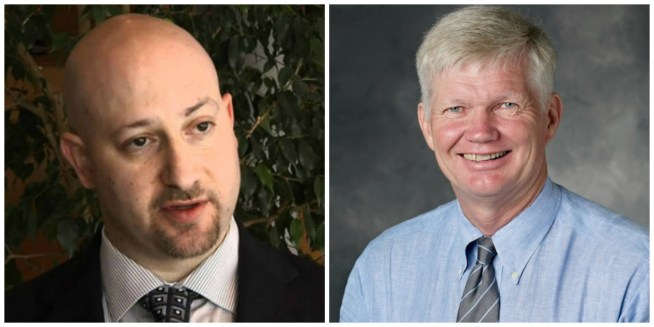 Dr. Jonathan Strosberg and Dr. George A. Fisher