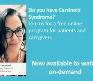 Cancer Coach Live, Carcinoid Syndrome program, on-demand-2