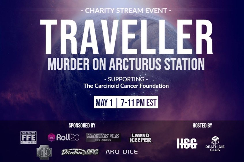 Traveller Chairty Event, May 1, 2020