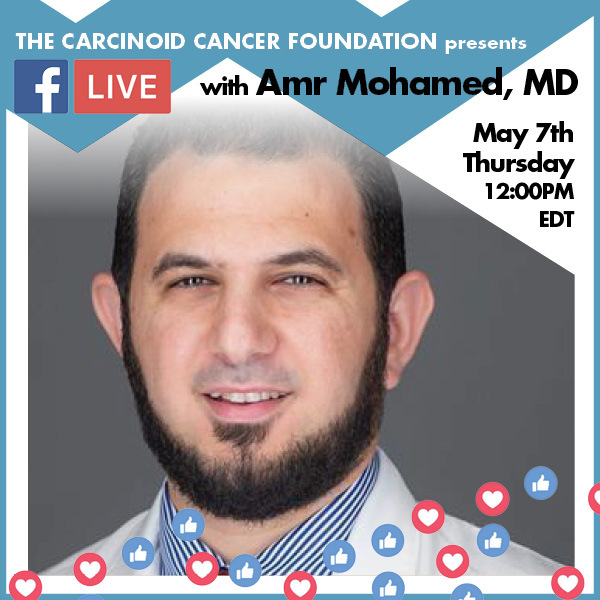 Facebook Live with Dr. Amr Mohamed, May 7, 2020