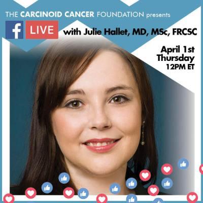CCF FB LIVE Julie Hallet, MD, MSc, FRCSC April1