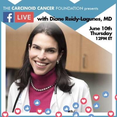 CCF FB LIVE June 10 Diane Reidy-Lagunes, MD