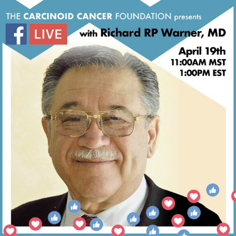 Facebook Live with Richard R.P. Warner, MD, April 19, 2019, 1 pm EST