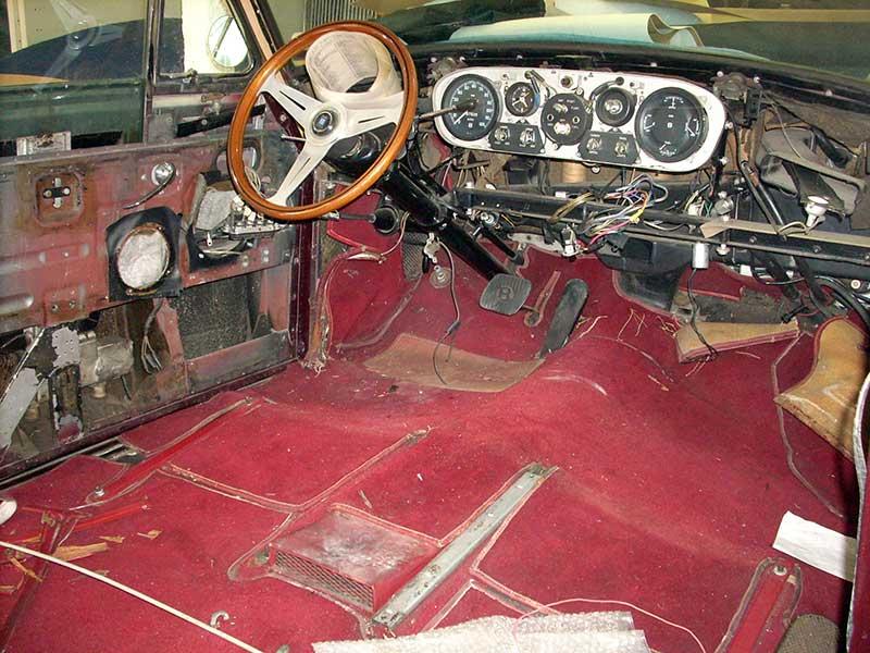 Bentley restoration  reupholster Bentley upholstery