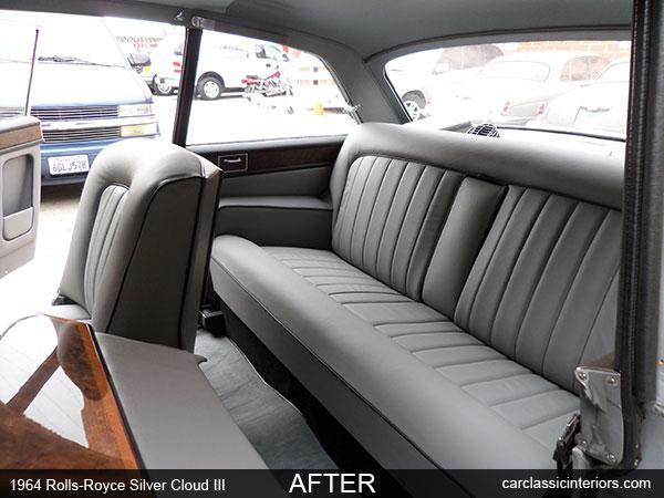 RollsRoyce restoration  RollsRoyce interior upholstery