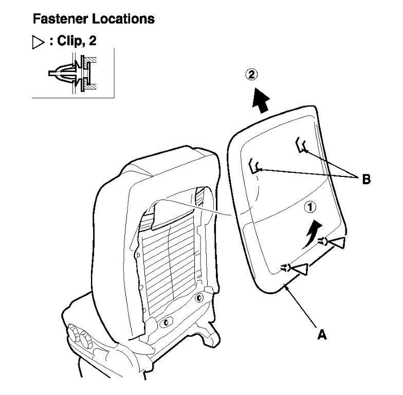 Service manual [2006 Honda Pilot Seat Cover Removal
