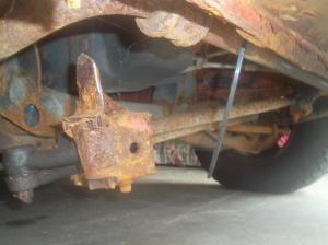 2002 Dodge Ram Van 1500 Excessive Frame Rust: 2 Complaints