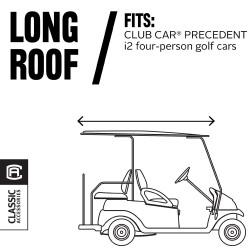 Fairway Fadesafe Club Car 4-Person Golf Cart Enclosure