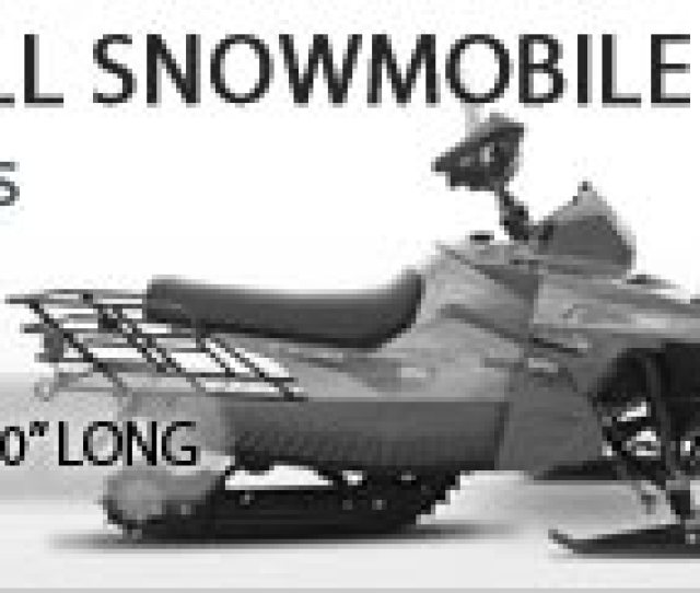 Small Snowmobile Cover Up To 100 Inches Long