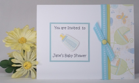 Homemade Duck Baby Shower Invitations With Invitation Ideas For A Boy Together Diy Templates Free