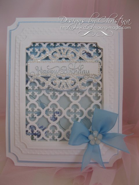 Creating A Frame With Spellbinders