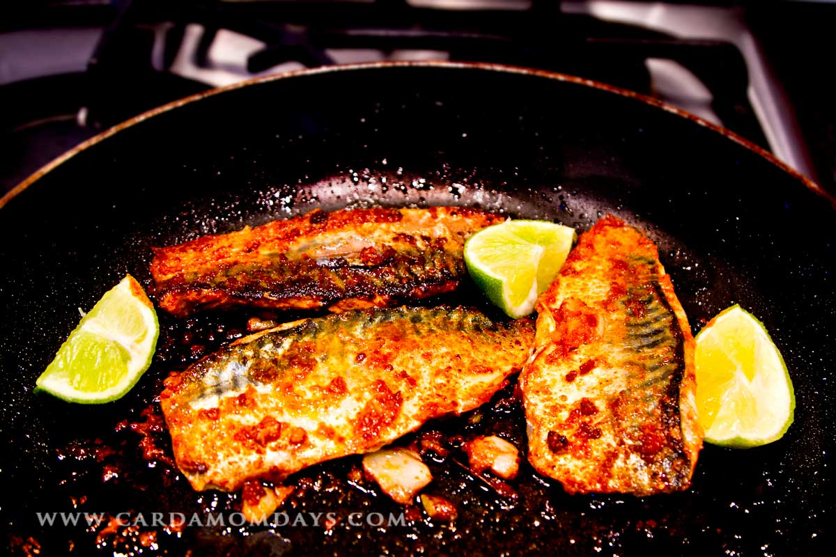 Indian Fried Mackerel  Cardamom Days Food