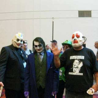 Awesome The Dark Night Joker cosplay