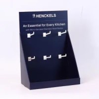CDU Kitchen Supplies Counter Display Organizer With Hooks ...