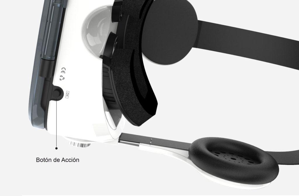 Gear MX Cardboard de Plástico Botón de Acción