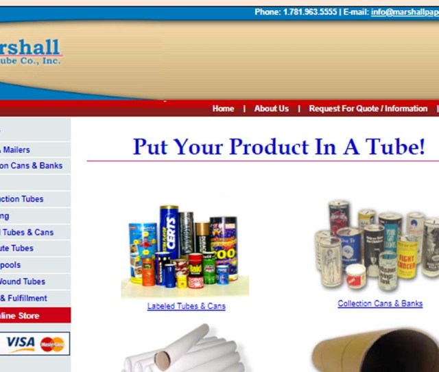 Marshall Paper Tube Company Inc