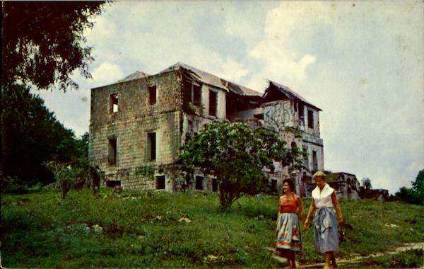 Ruins Of Rose Hall Estate Great House Jamaica Jamaica