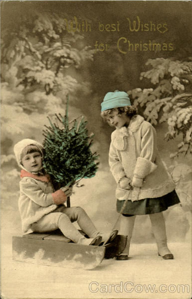 With Best Wishes For Christmas Children