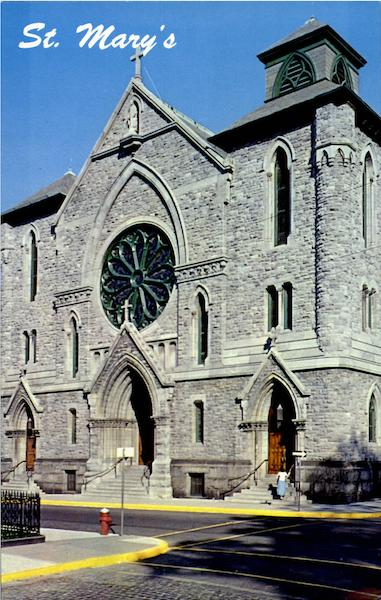 St Marys Roman Catholic Church Washington and Third Sts Troy NY