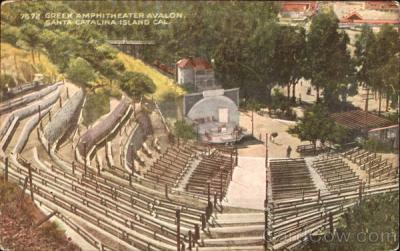 Greek Amphitheater Avalon Santa Catalina Island, CA