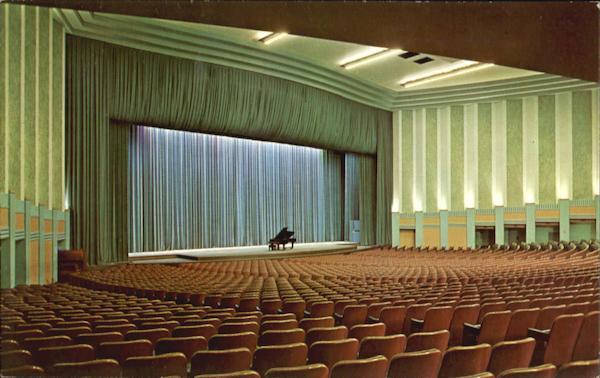 Edward C Elliott Hall Of Music Purdue University West