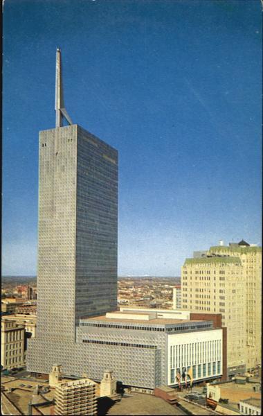 The Republic National Bank Building Dallas TX