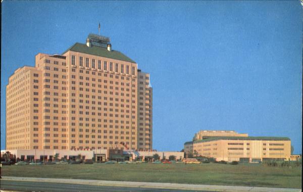 Shamrock Hilton Hotel Houston TX