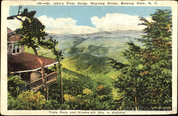 St Johns River Gorge Blowing Rock NC