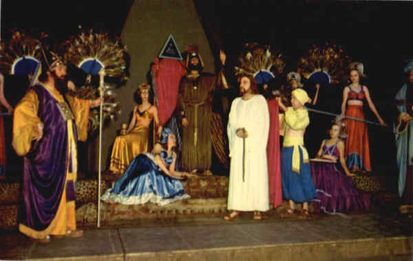 Jesus is brought before King Herod Religious