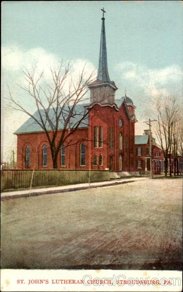 St Johns Lutheran Church Stroudsburg PA