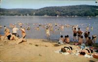 Bathing At Mountain Lake Belvidere, NJ