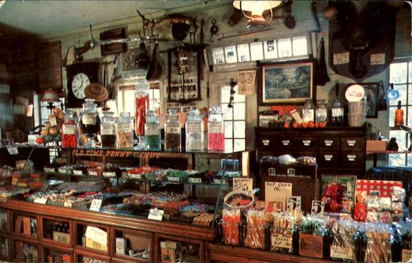 The Penny Candy Counter Wayside Country Store Sudbury MA