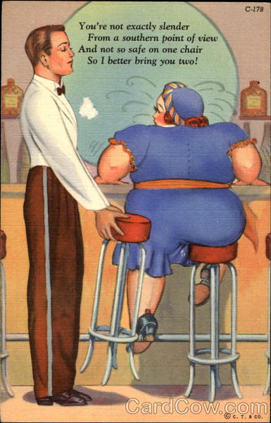 Two Stools Fat People