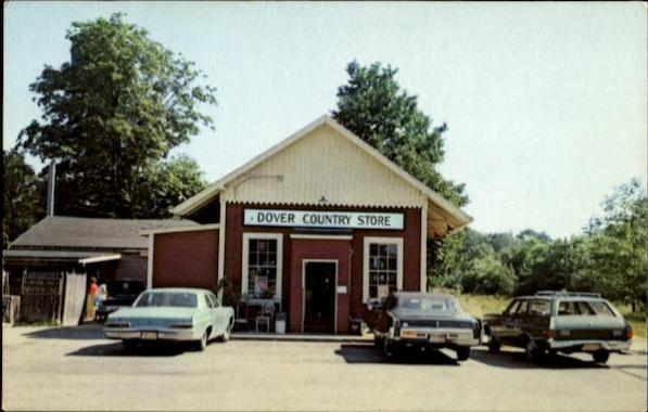 Dover Country Store, Inc., 14 Dedham St. Vintage Post Card