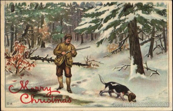 Merry Christmas Hunting