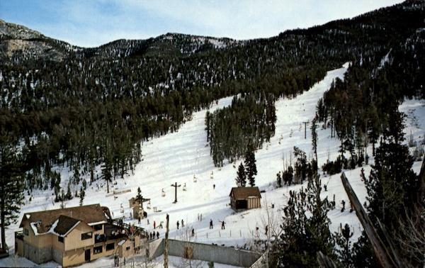 Lee Canyon Ski Area Las Vegas NV