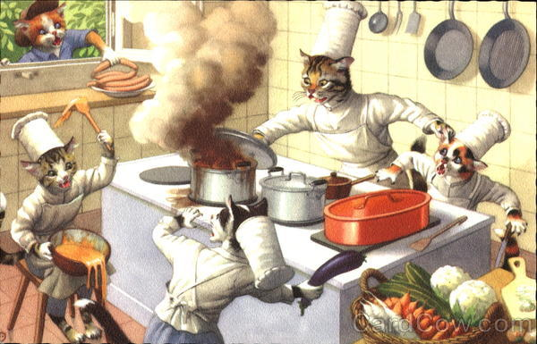Too Many Cooks Cats
