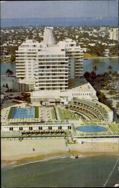 Eden Roc Hotel Cabana And Yacht Club 47th Street Miami