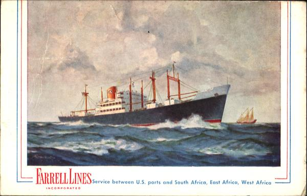 Farrell Lines Boats Ships