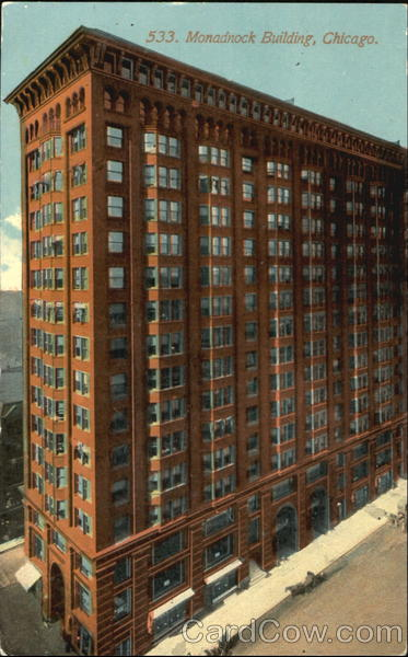 Monadnock Building Chicago IL