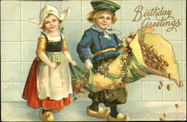 Birthday Greetings Dutch Children