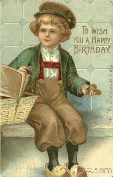 To Wish You A Happy Birthday Dutch Children